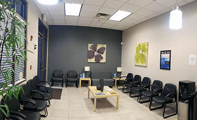 Patient waiting area at our Gold Canyon, AZ office